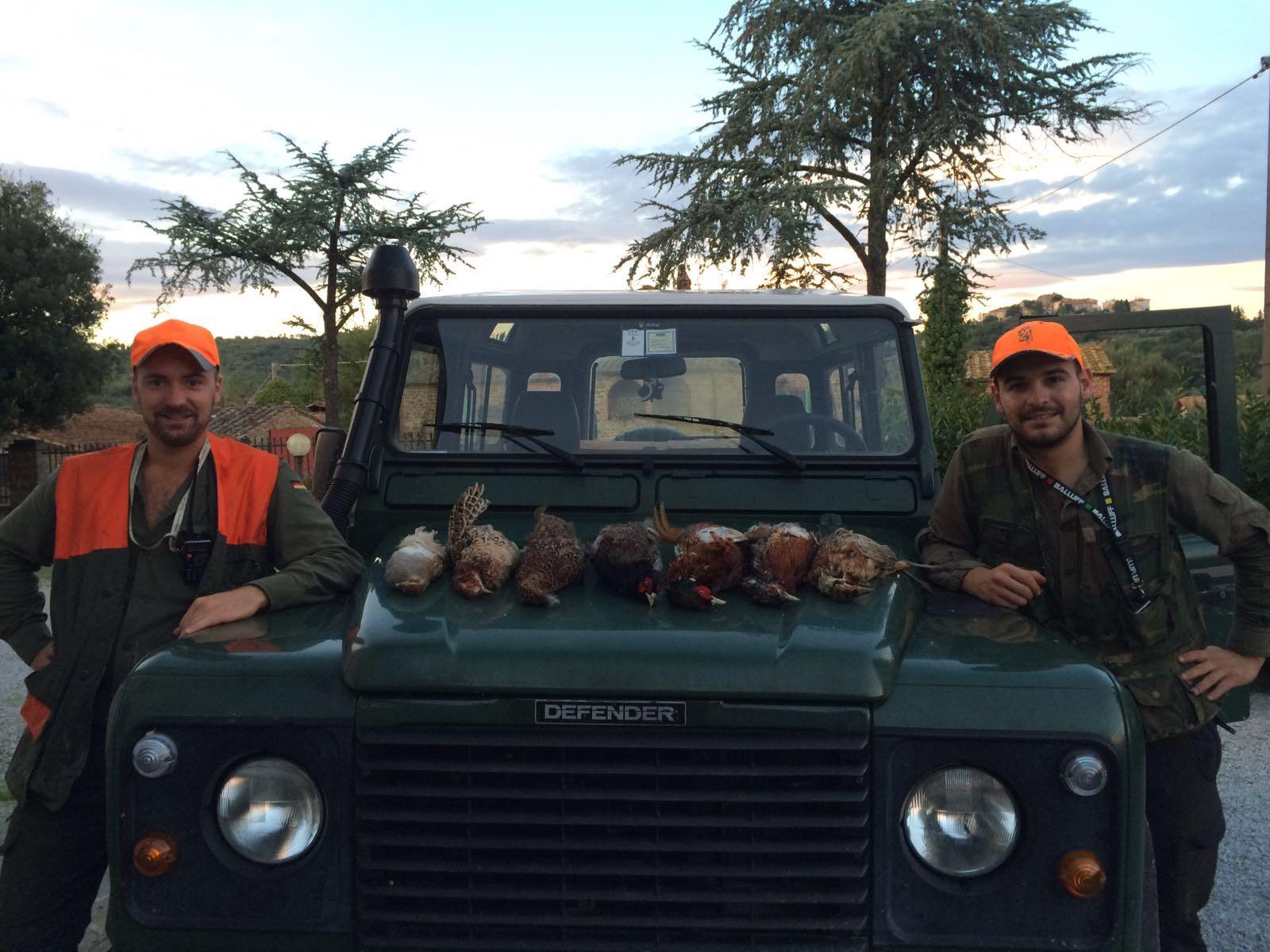 Giornata di caccia in riserva